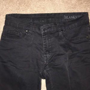Blank NYC skinny black jeans 27